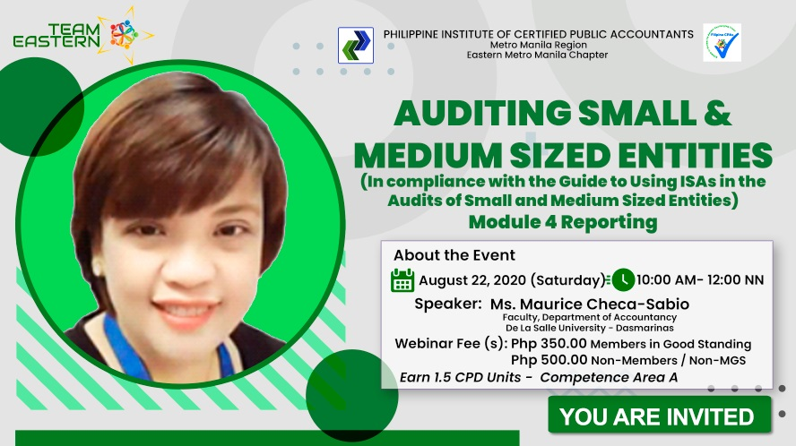 Auditing Small  U0026 Medium Sized Entities  In Compliance With